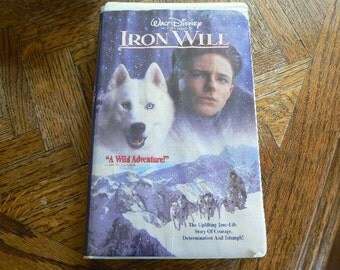 Iron Will VHS Movie in great condition (Clamshell)