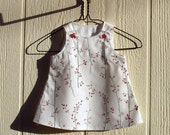 Spring Buds Newborn Cotton Dress