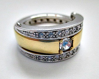 Avon Vintage Flip  Ring - Size 7 - 2 Rings in One
