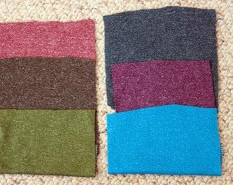 Merino Wool Fabric!! Polartec Power Wool Jersey - Purple Heather - Breathable, fast drying, perfect for sportswear! 2 Yards!