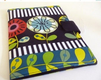 SALE Modern Floral iPad 2 Cover also fits iPad 3 and 4