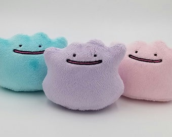 MADE TO ORDER Pokemon Ditto Plush Toy  ~ Shiny or Regular