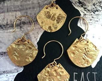 Clark earrings/ Bronze/ East