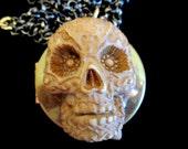Dia Los Muertos - Day of the Dead Locket Necklace