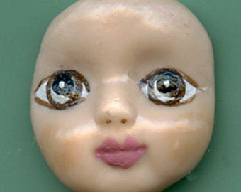 Polymer Brown  Eyed Baby Face  Cab BB 3