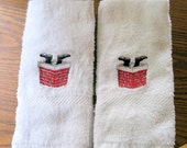 On Reserve Special Order for Donna Lawry set of 4 Santa feet Sticking out of Chimney