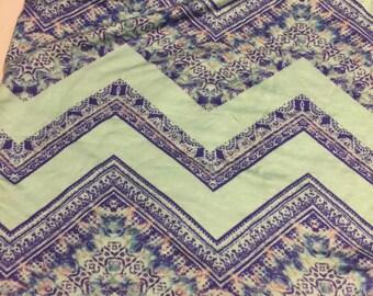 Stretch  Jersey Knit 1 Yard Abstract  Pattern