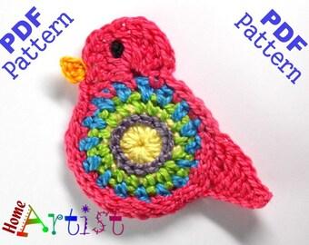 Popular Bird Crochet Pattern