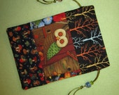 Magickal Tarot Bag Mushroom Owl Wisdom of the Forest Nature Path
