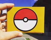 Pokemon Pokeball Duct Tape Wallet - by jDUCT