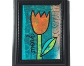 GROW Flower Mixed Media P...