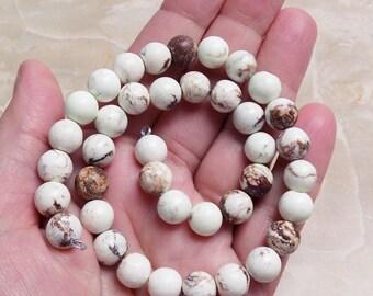 Brown Zebra Jasper beads
