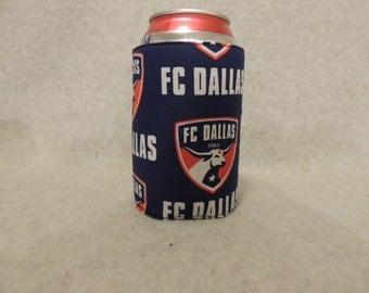 Can or Bottle Cozie  FC Dallas Soccer