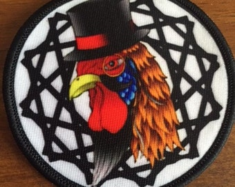 50 Custom Printed SEW ON Patches - Your own artwork - Unlimited Colors - A USA Company