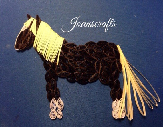 Quilled Chincoteague Pony, Surfer Dude