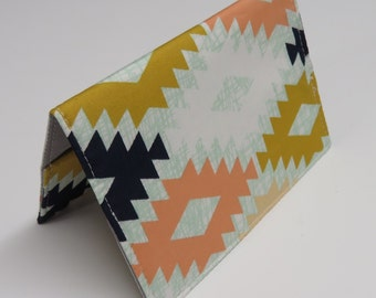 Passport Cover Case Travel Holder - Agave Field - April Rhodes Fabric