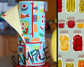 Unpaper Towels | Reusable Paper Towels - Can It (0433951) Tree Saver Towel | Kitchen Towel | Snapping Cloth Paperless Towel & Wet Bag