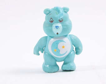 Care Bears Vintage Poseable Bedtime Bear Kenner Articulated Toy