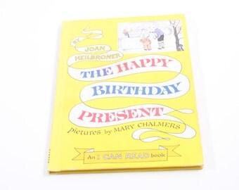 The Happy Birthday Present - Heilbroner - Vintage Children's Book ~ The Pink Room ~ 160921A