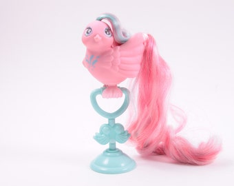 Fairy Tails My Little Pony Vintage Bird  Tickle Tails With Stand