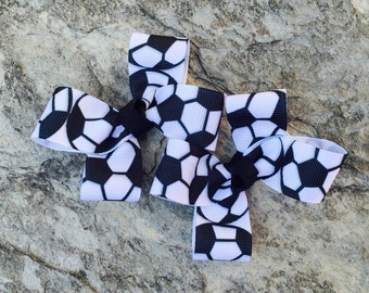 Pair of Soccer Clippies-Ready to Ship