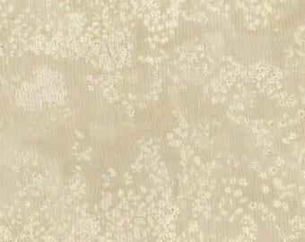 Nani Iro Kokka Japanese Fabric Lei nani - for beautiful corolla linen - paul flowery - 50cm