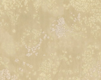 Nani Iro Kokka Japanese Fabric Lei nani - For beautiful corolla - Shinjyu - 50cm