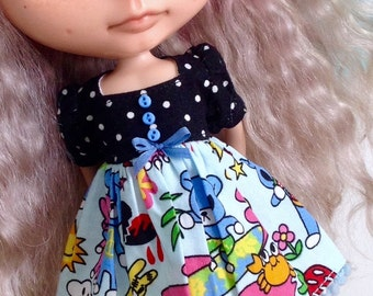 Dress for Blythe - Rilakuma Bear