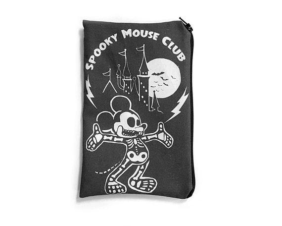 Spooky Mouse Club Pencil Pouch