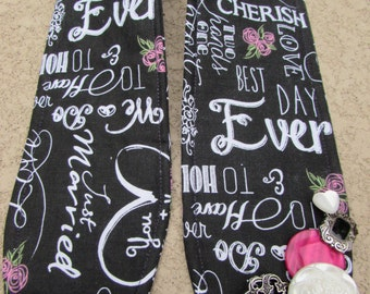 Unique one of a kind Wedding Photographer Camera Strap