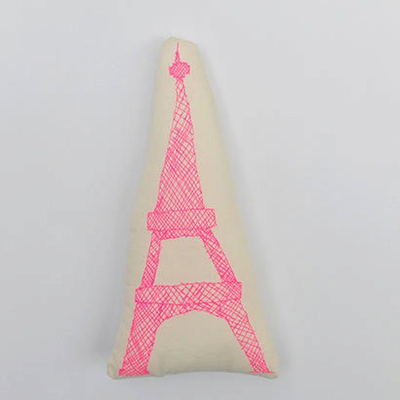 Eiffel Tower neon pink
