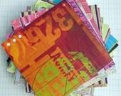 100 Sheets 6 inch X 6 inch Scrapbooking Paper Destash Scrap Paper 6 X 6 Printed Paper for Card Making