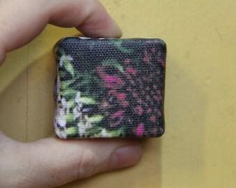 Purple Scabiosa - Mini Canvas Print