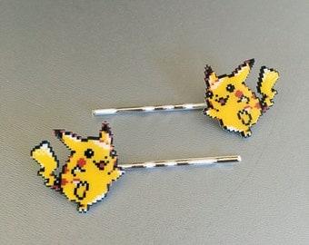 Pikachu - Pokémon bobbypins or barrettes