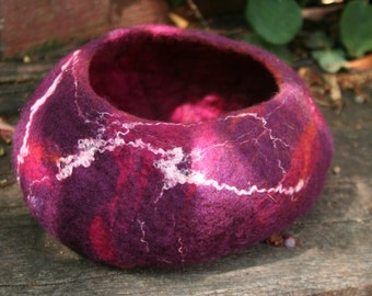 Hand Felted Bowl