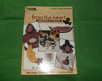 From the Heart Iron On Transfers Book