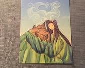 Lava Love Postcard (Item 09-344)