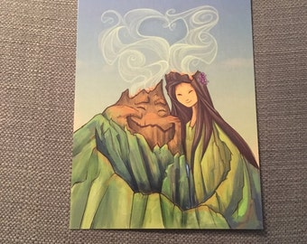 Lava Love Postcard (Item 09-344)