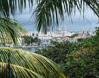 instant download / View on Havana //  jpg file / home decor / wall art / Cuba