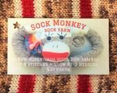 Sock Monkey sock yarn - in stock!!
