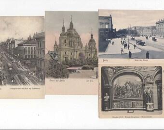 Vintage Postcard lot, Germany Postcard Scenes, Scrapbooking, Collecting,PAper craft