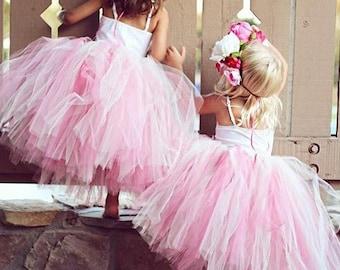 A V I E tutu (size 6-24 mo). CUSTOM COLOR tutu, Flower Girl tutu, Baby tutu, Custom Girls tutu, Birthday tutus, Wedding tutu