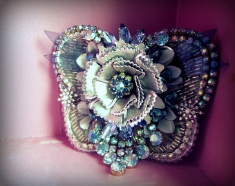 A special kind of Butterfly - OOAK Brooch - Ready to ship xx