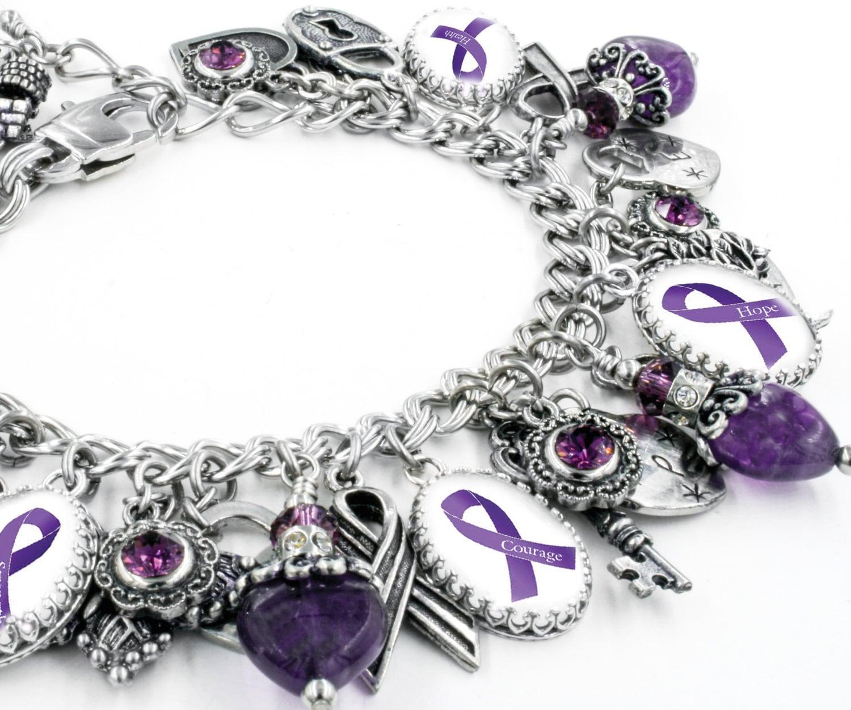 Фото фиолетового браслета