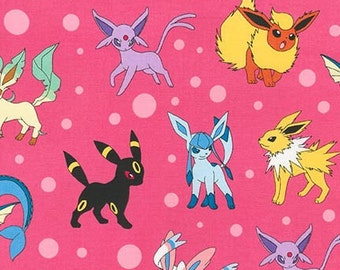 Pokémon Evee, Character Toss on pink, Limited quantity,  Yard