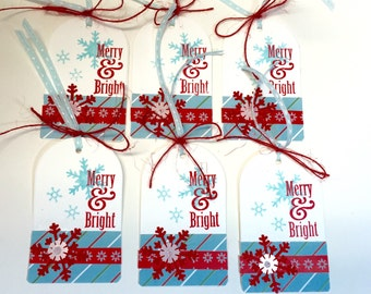 Tag - Gift Tag - Christmas Gift Tags set of 6