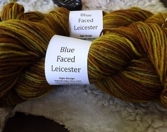 Blue faced Leicester Wool-Golden browns 560122