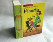 PINOCCHIO Hollow Book Keepsake Box Vintage Book LIAR Kid Fake Book Secret Secret Stash Box Hidden Compartment Groomsman Wedding Party Wooden