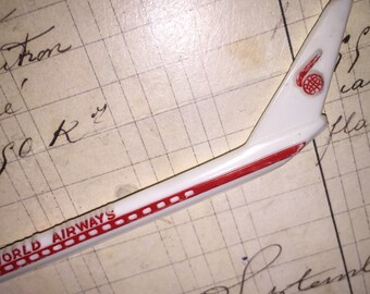 Vintage World Airways Cocktail Stir Stick