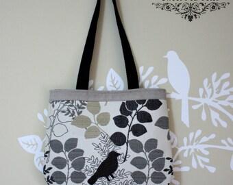 The beauty of Nature bird Handbag / upholstery fabric